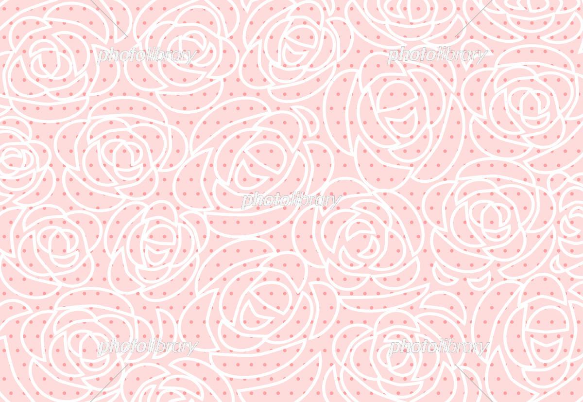 薔薇 背景 イラスト素材 [ 5393347 ] - フォトライブラリー photolibrary