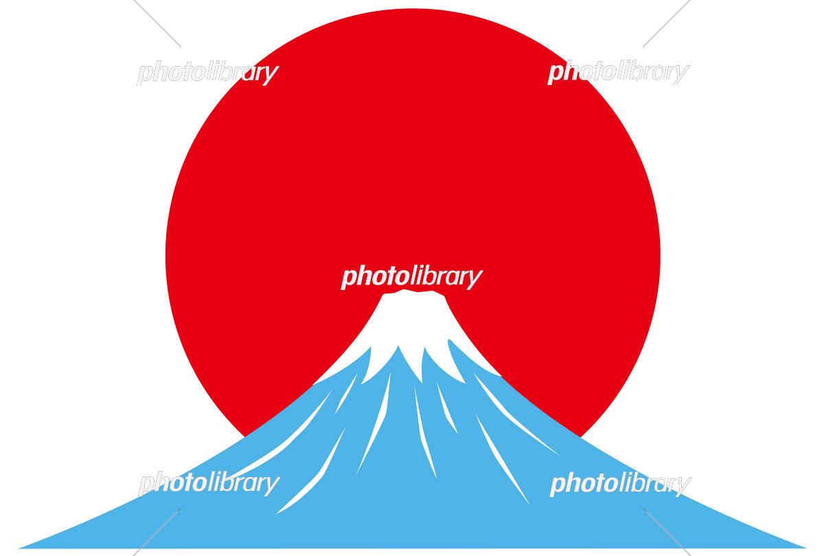 富士山 日の出 イラスト素材 5748169 フォトライブラリー