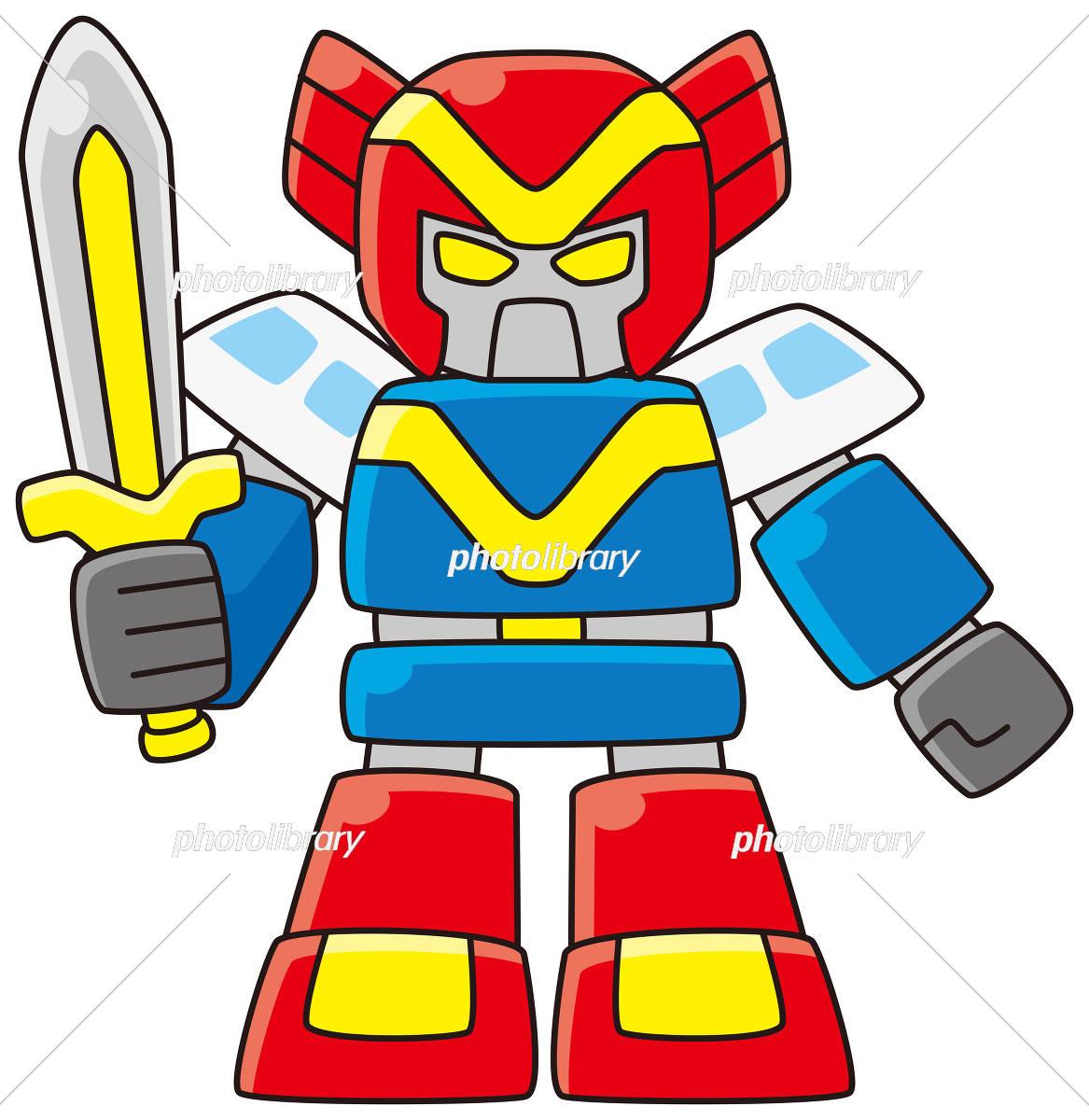 戦隊ヒーロー風ロボット イラスト素材 5781687 フォトライブラリー