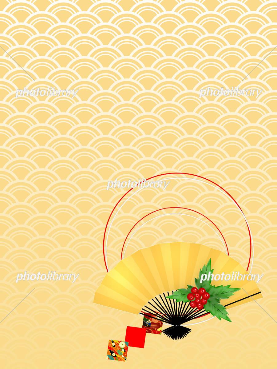 正月 新年 新春 初春 めでたい 和柄 和風 和 イラスト素材 フォトライブラリー Photolibrary