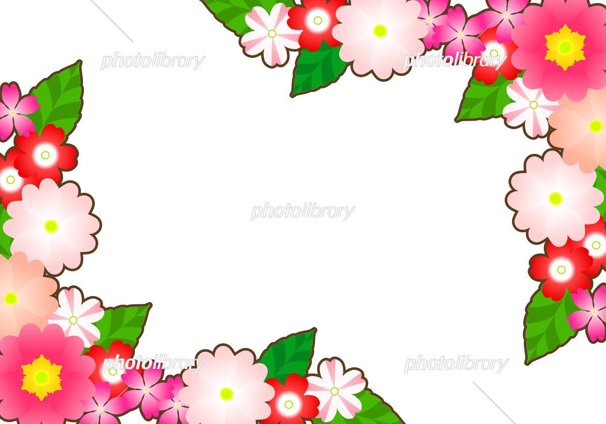春の花 いろいろ イラスト素材 4089146 フォトライブラリー
