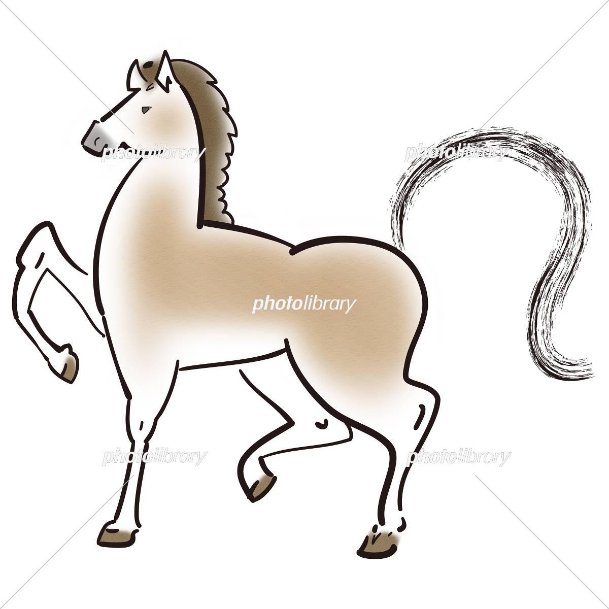 馬のイラスト イラスト素材 フォトライブラリー Photolibrary