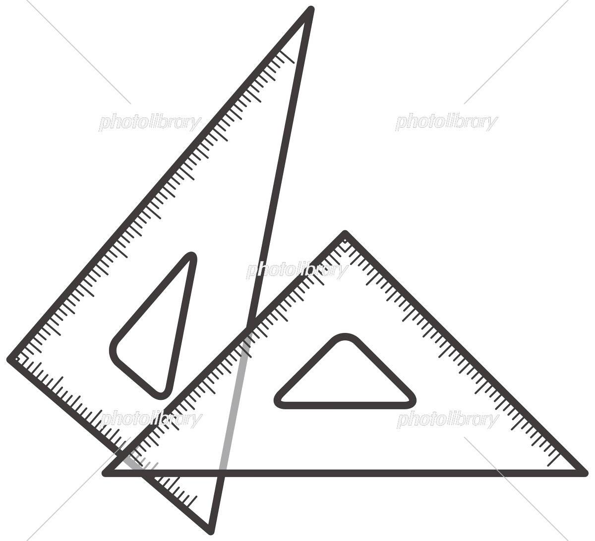 三角定規のイラスト イラスト素材 5937306 フォトライブラリー