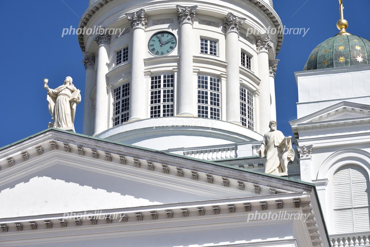 ヘルシンキ大聖堂 十二使徒の像 写真素材 [ 6128149 ] - フォトライブ ...