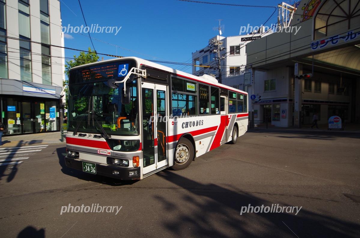 バス 北海道 中央