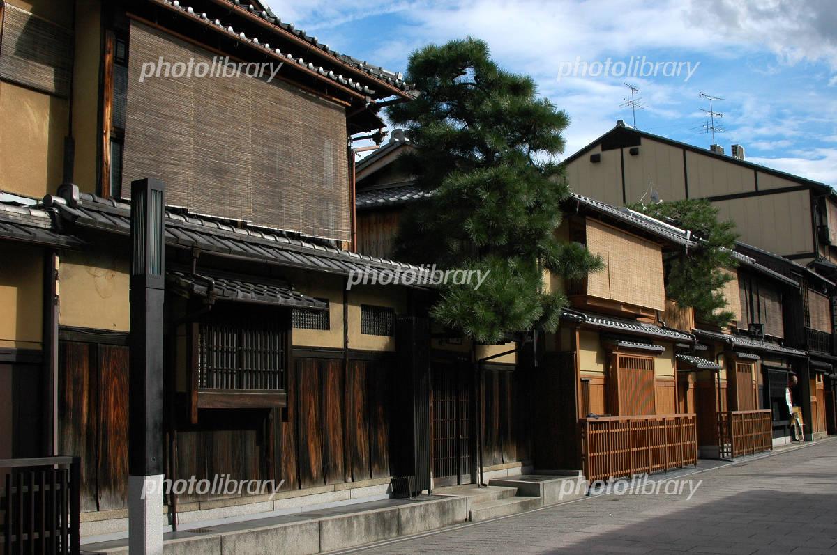 京都町屋 写真素材 [ 322590 ] - フォトライブラリー photolibrary