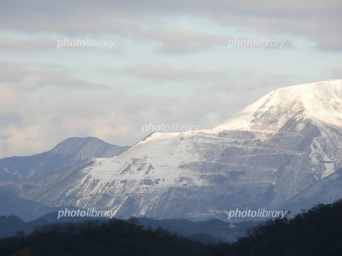 彦根の雪山