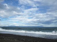 三保の海岸