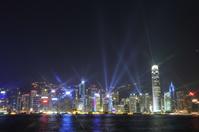 Hong Kong Symphony of Lights Stock photo [375220] Light