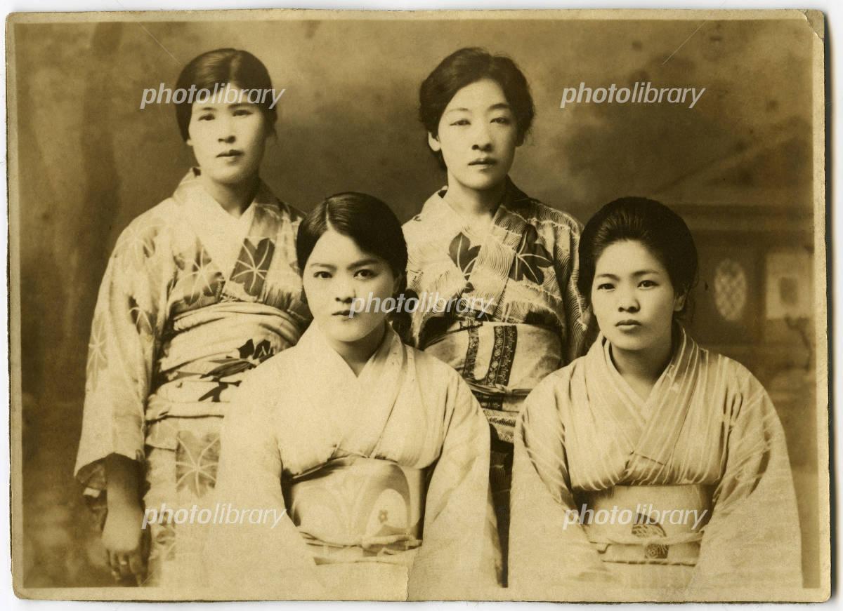大正時代の古い写真-写真素材 大正時代の古い写真 画像ID 387327  大正時代の古い写真