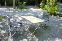Campsite and table set Stock photo [438083] Camp