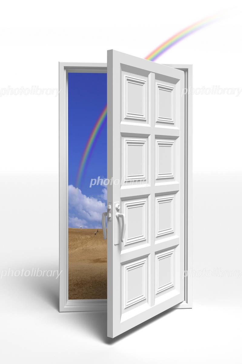 白いドア イラスト素材 496092 フォトライブラリー Photolibrary