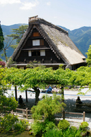 Gero Onsen Gassho Village of Spring Stock photo [490894] Gero