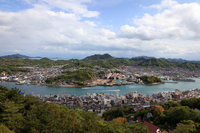 Onomichi city from Senkoji park observatory Stock photo [536131] Onomichi