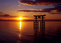 White Beard shrine of sunrise Stock photo [537327] Asahi