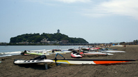 Enoshima and Katase Higashihama Stock photo [572915] Enoshima