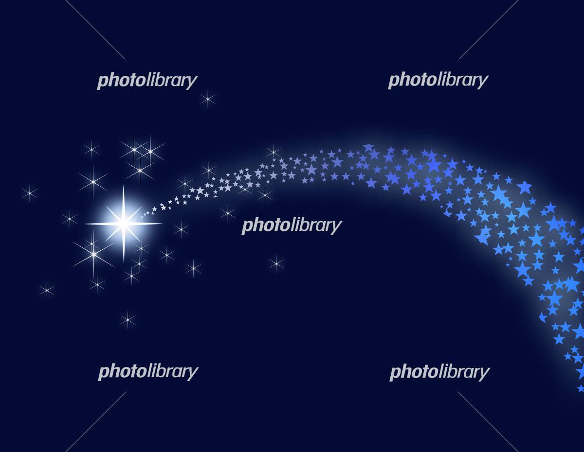 彗星のイラスト