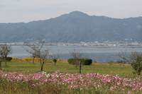 Of October Lake Biwa Metropolitan Hiei Stock photo [645668] Lake