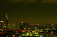 Momochi night view Stock photo [649881] Bridge