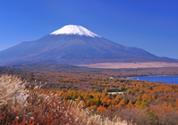 Fall of Mount Fuji Stock photo [650588] Mt.