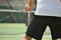 Return Stock photo [803007] Tennis