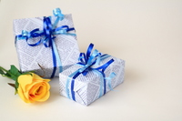 Roses and gifts Stock photo [804816] Father's