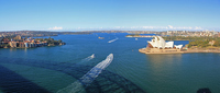 Shadows and Opera House Harbour Bridge Stock photo [814220] Sydney