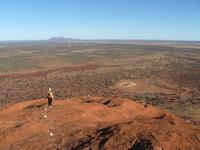 Ground of red soil Stock photo [814632] Australia