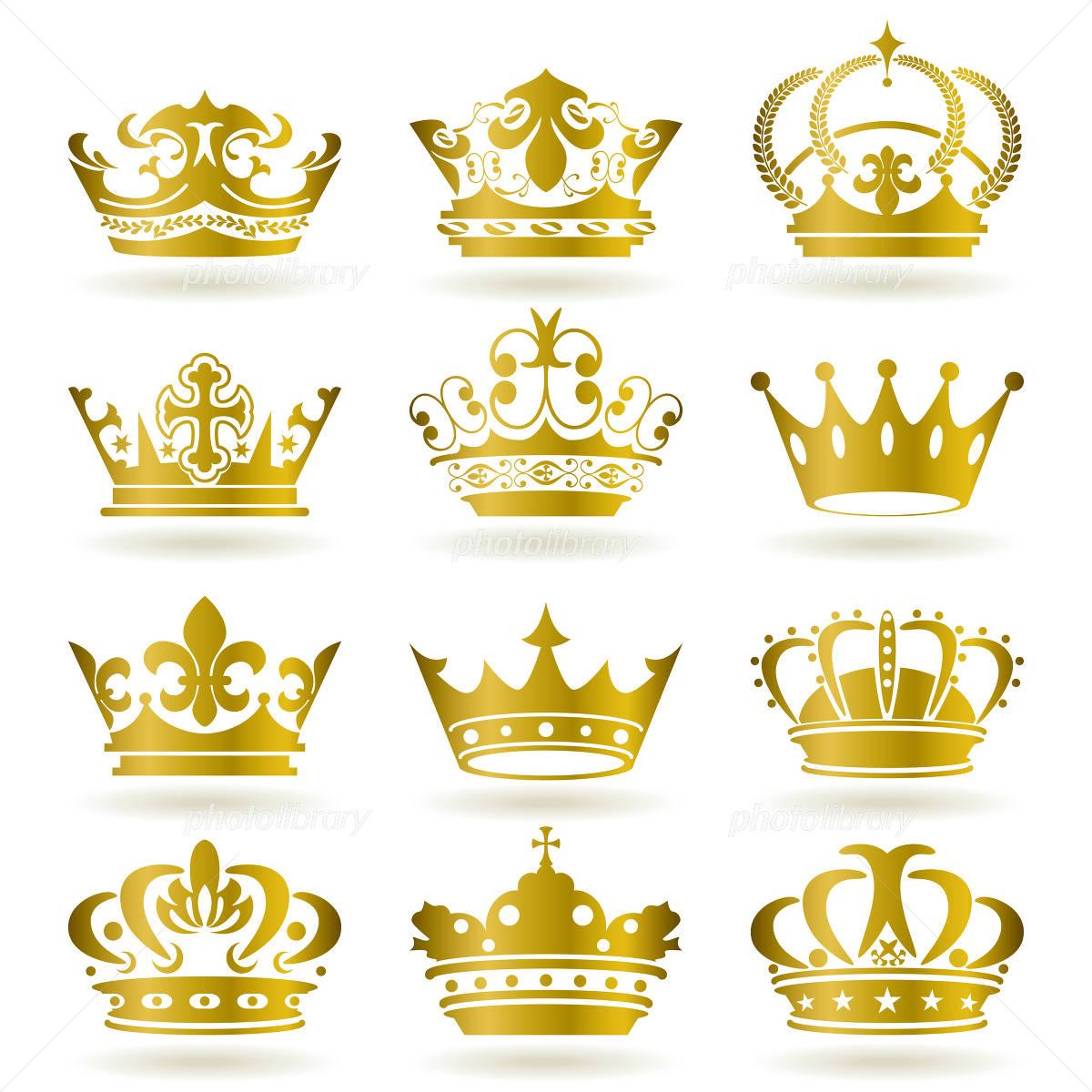 王冠 イラスト素材 980210 フォトライブラリー Photolibrary