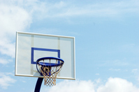 Basketball goal Stock photo [972859] Basketball