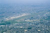 Osaka International Airport Aerial Stock photo [973990] Osaka