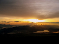 Sunrise from Mount Fuji No. 8 th Stock photo [981126] Mt.