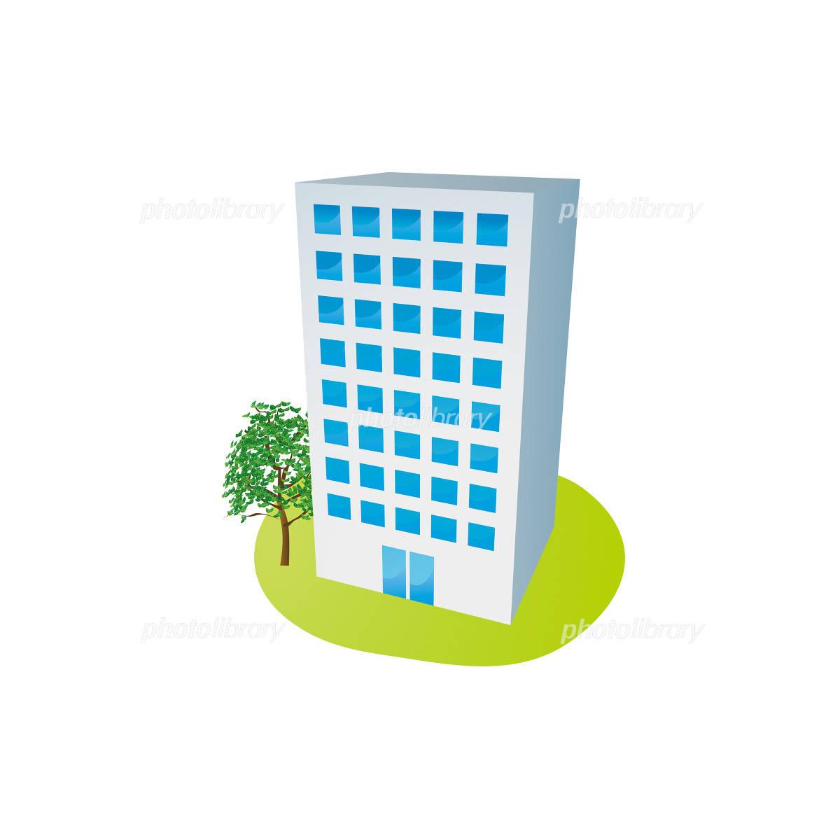 ビル、会社のイラスト-写真素材 ビル、会社のイラスト 画像ID 1083509  ビル、会社のイ