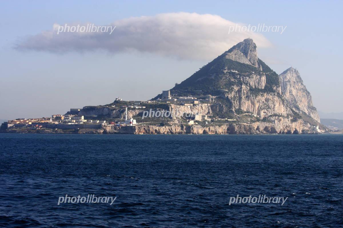ジブラルタル海峡 写真素材 [ 10...