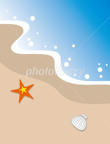 海岸の波打ち際 イラスト素材 1092769 フォトライブラリー