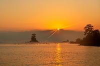 Amaharashi coast of sunrise Stock photo [1084661] Amaharashi