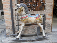 Horse of Spain Toledo shop destination Stock photo [1085175] Spain