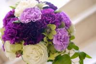 Purple Bouquet Stock photo [1086032] Carnation