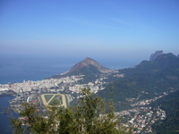 View from the hill of Corcovado Stock photo [1086428] Brazil