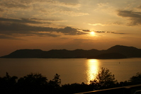 Seto Inland Sea sunset Stock photo [1086790] Seto