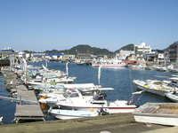 Of Ehime Prefecture Hojo Port Stock photo [1088056] Ehime