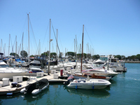 California San Diego Yacht Harbor Stock photo [1088711] America