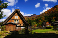 Fall of Shirakawa-go Stock photo [1089466] A-frame