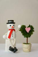 and I wanted to tell you my feelings snowman Stock photo [1090617] Snowman