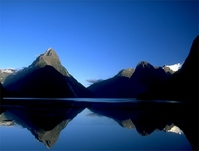 Dawn of Milford Sound Stock photo [1092977] New