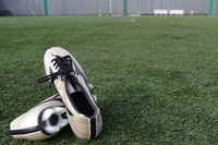 Spikes and turf Stock photo [1093033] Football