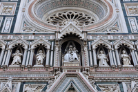 Statue of Florence Duomo front Stock photo [1196300] Italy