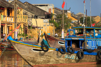 Hoi An town and ship Stock photo [1199403] Town