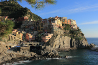 Houses of the Cinque Terre Manarola Stock photo [1200736] Italy
