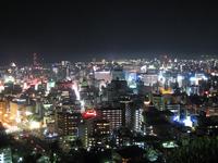 Night view from Kagoshima Shiroyama Stock photo [40270] Kagoshima